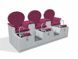 Innova spa per mobiliario de peluquer as y est tica for Sillas para manicure